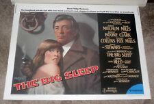 The Big Sleep original 22x28 1978 Rolled movie poster Robert Mitchum/Oliver Reed
