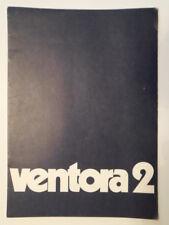 VAUXHALL VENTORA 2 orig 1970 UK Mkt Sales Brochure