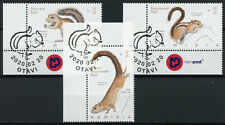 More details for namibia wild animals stamps 2020 cto squirrels tree squirrel fauna 3v set