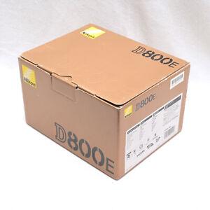 Nikon D800E BOX & Packaging Only (No Camera Included) Good Condition Hong Kong