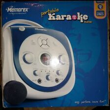 Memorex portable karaoke system with CD+ Graphics model MKS2115 NBLA (NEW)
