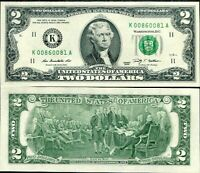 Unirculated UNC com P 523a 1 DOLLAR 2006 K Dallas TX USA