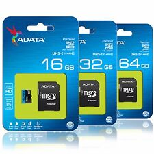 ADATA 16GB 32GB 64GB microSD SDHC UHS-I Class 10 85MB/s Flash Memory SD Card Lot