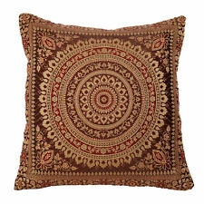 "Mandala Cushion Covers Antique Style Banarasi Ethnic Indian 15"" 38cm Various"