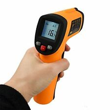 Digital Non-contact Temperature Gun Infrared IR Laser Thermometer Range -50~380℃