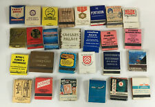 Vintage Lot 27 Casino Hotel Airline and other advertising Matchbook Matches