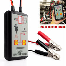 EM276 12V Injector Tester 4 Pluse Modes Powerful Fuel System Vehicle's Engine