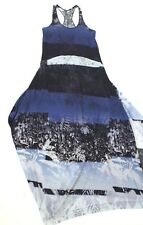 RARe Robe longue BLEUE grande ligne  Marithe+Francois GIRBAUD T.36 fr (40 i )