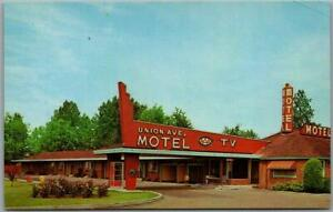"""Portland, Oregon Postcard UNION AVE. MOTEL """"A Nice Place for Particular People"""""""