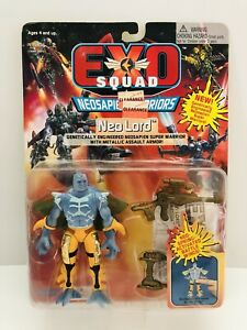 Exo Squad Neosapien Warrior Neo Lord Action Figure(1995 Playmates) Brand New!
