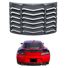 Rear Window Louver Scoop Cover in GT Lambo Style Vent For Chevy Chevrolet Camaro