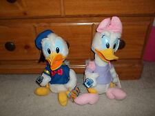 "Vintage APPLAUSE Donald & Daisy Duck Plush Set- 15"""