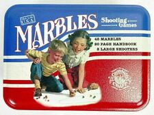 Channel Craft Marbles Shooting Game in Tin, Instructions Vintage Toys NIP