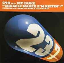"""C90 FT MC DUKE - Miracle Maker (I'm Riffin') (12"""") (Promo) (VG+/EX-)"""