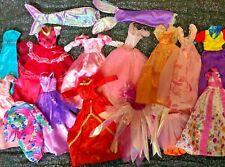 More details for bundle princess dresses clothes x12 suitable for barbie & 11