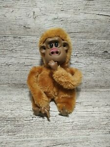 Vintage Rutherford III RUSS BERRIE & CO Monkey Stuffed Ground Nut Animal Plush