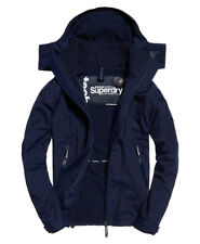 》mens Superdry Arctic Hooded Cliff Hiker Jacket Nautical Navy Size L