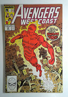 Avengers West Coast #50 (1989) Marvel 9.0 VF/NM Comic Book