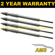 4X DIESEL HEATER GLOW PLUGS FOR KIA K2900 SEDONA 2.9 CRDI D DUAL CORE