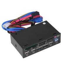 5.25'' inch USB 3.0 Hub Dashboard Media Front Panel Audio eSATA  Card Reader V