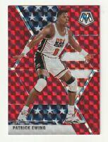 2019-20 Panini Mosaic Prizm RED Patrick Ewing USA Basketball #253 Knicks HOBBY