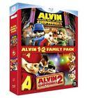 """Coffret 2 Blu-ray neuf sous blister """"ALVIN ET LES CHIPMUNKS 1 et 2"""""""
