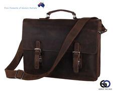 Buffalo Leather Messenger Bag.Mens Leather Satchel Bag.Mens laptops bag