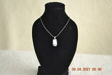 HANDMADE IN ISRAEL, SILVER  PENDANT MADE WITH 2000 YEAR OLD ROMAN GLASS