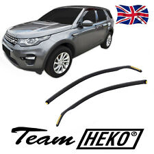 LAND ROVER DISCOVERY SPORT 2014-up  Front wind deflectors 2pc set TINTED HEKO