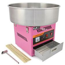Kukoo candy floss machine à barbe à papa maker sucre partie équitable bâtons gratuit
