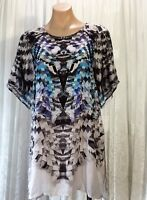 VERGE SIZE XS  KRYPTONITE TOP/ DRESS AS NEW CONDITION