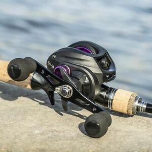 Right Hand Saltwater Baitcasting Reel 8KG Max Drag Fishing Reels Spinning Reel
