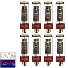Brand New Tung-Sol Reissue EL34B Plate Vacuum Tubes - Matched Octet