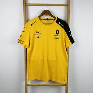 Le Coq Sportif Renault F1 Team Infiniti T-shirt Size L
