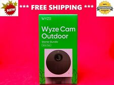 *BRAND NEW* WYZE OUTDOOR CAM 32 GB Card KIT SMART SECURITY WIRELESS HD Camera