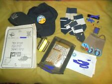 Lot Israeli Army Air Force IAF Pilot Items. Idf Zahal Israel Sayfan Helicopter