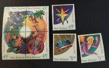 N. Zealand 1991 Christmas  set  MUH  h8