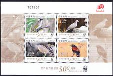 Macau 2011 MNH MS, Birds, WWF -W23