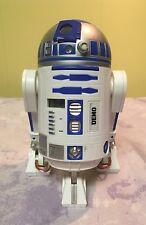 STAR WARS R2-D2 Alarm Clock ELECTRONIC LIGHT & SOUND Noise Red Light