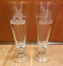 Preowned Arizona Diamondbacks (Gila River Casino) Beer Glass(Set of 2 glasses)
