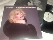 JOAN RIVER, WHAT BECOMES A LEGEND FIRST? GHS-4007, Vinyl LP Album, GREAT!