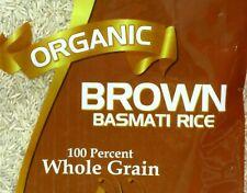 USDA Organic Kosher Certified BROWN Basmati Rice 8 lb