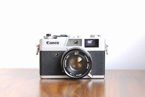 CANON Canonet QL19 ,  35mm Rangefinder Camera   w/ Case    * Working, No Meter *