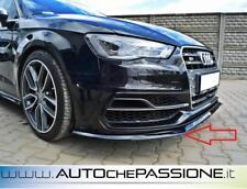Splitter/Spoiler anteriore per Audi A3 S3 8V dal 2013> lama lip