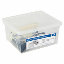Cajas de almacenaje de color principal transparente para el hogar
