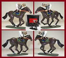 """King & Country Glossy """"A Day at the Races"""" Horse #2  **AA-11385/S2** RARE"""