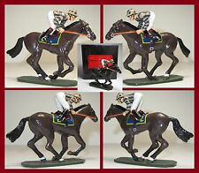 """King & Country Glossy """"A Day at the Races"""" Horse #2  **K&C/8640.2**"""