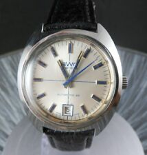 BWC Automatic 25 Herrenuhr 753100-2 Edelstahl Vintage