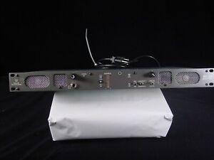 Wohler Technologies AMP1-SDA Digital Audio Monitor Panel Powers Up