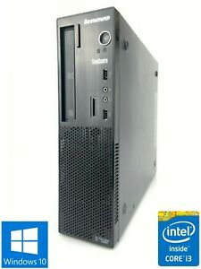 Lenovo E73-10DU - 500GB HDD, Intel Core i3-4170, 8GB RAM - Win 10 Pro